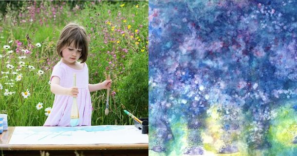 This 5-Year-Old Girl Has Autism And She Creates Masterpieces Of Art